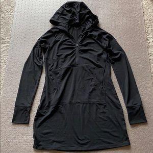 Athleta Pacifica 1/4 Zip Tunic - Size Medium Tall
